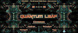 Party Flyer QuAnTuM LeAp ☆ Underground Psytrance Party ROME 12 Jan '19, 23:00