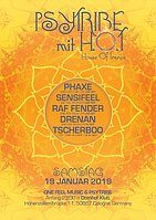 Party Flyer Psy Tribe mit H.O.T (House of Trance) 19 Jan '19, 23:00