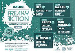 Party Flyer FREAKY FICTION 23 Jan '19, 23:00