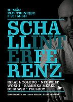 Party Flyer Human Electronique meets Schallinterferenz 25 Jan '19, 23:30