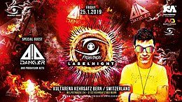 Party Flyer ★ PROGVISION RECORDS LABELNIGHT ★ w/ Dang3r 90 min! captain jack, simply nation 25 Jan '19, 22:00