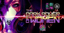 Party Flyer Psychedelic Gaff #12 The Dark Power of Women 25 Jan '19, 21:00