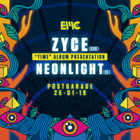 Party Flyer Zyce & Neonlight it's Electronic Music City Birthday 25 Jan '19, 23:00
