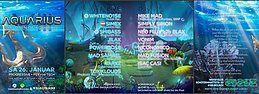 Party Flyer Aquarius VIII 26 Jan '19, 22:00