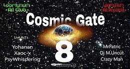 Party Flyer Cosmic Gate 8 26 Jan '19, 22:00