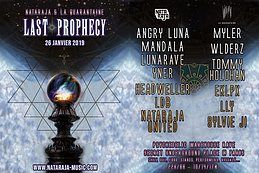 Party Flyer Last prophecy 26 Jan '19, 23:00
