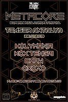Party Flyer METACORE Festival TEASER Antalya 26 Jan '19, 22:00
