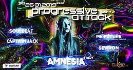Party Flyer Progressive Attack 2 26 Jan '19, 23:00