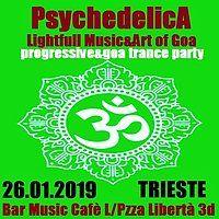 Party Flyer ***PsychedelicA***Lightfull Music&Art of Goa*** 26 Jan '19, 21:00