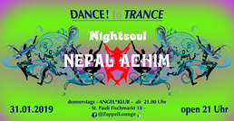 Party Flyer DANCE to TRANCE 31 Jan '19, 21:00