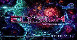 Party Flyer ๑ Ankanaté presents: Elysium GOA ๑ 1 Feb '19, 23:00