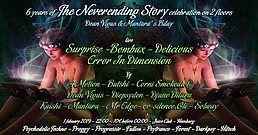 Party Flyer TNS - 6 Years celebration on 2 floors: Dean Vigus & Mantara Bday 1 Feb '19, 23:00