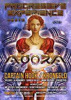 Party Flyer Progressive Experience meets Agora with Captain Hook & Kronfeld 2 Feb '19, 23:00