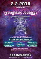 Party Flyer Psychedelic Journeys - a psychedelic trance experience 2 Feb '19, 23:00