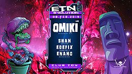Party Flyer ॐ Evolution Goa w/ Omiki (Spintwist) Live ॐ 8 Feb '19, 23:00