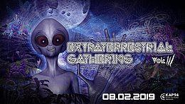 Party Flyer Extraterrestrial Gathering No. 3 8 Feb '19, 21:30