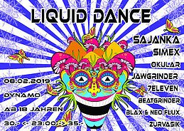 Party Flyer Liquid Dance 8 Feb '19, 22:00
