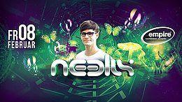 Party Flyer NeelixLive 8 Feb '19, 21:00