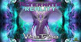 Party Flyer Psybox - Alternate Reality with Vibe Tribe *live 8 Feb '19, 22:00