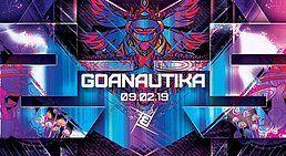 Party Flyer Goanautika /w.Klopfgeister 9 Feb '19, 23:00