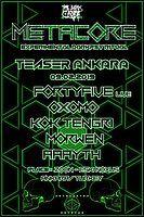 Party Flyer METACORE Festival TEASER Ankara 9 Feb '19, 20:00