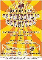 Party Flyer Shamatha Psychedelic Carnival 9 Feb '19, 22:00