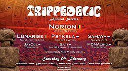 Party Flyer Trippedelic - Ancient Secrets 9 Feb '19, 23:00