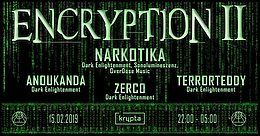Party Flyer Encryption II 15 Feb '19, 22:00