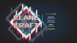 Party Flyer Klangkraft 15 Feb '19, 23:00