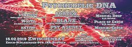 Party Flyer Psychedelic DNA °Boundless Rec. Release Party° 15 Feb '19, 22:00