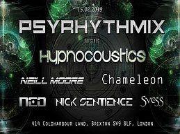 Party Flyer Psyrhythmix Psytrance Adventure 15 Feb '19, 23:00