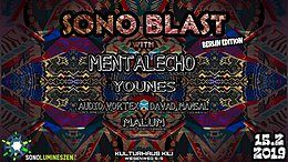 Party Flyer SONO-Blast-Berlin w/Mentalecho 15 Feb '19, 22:00