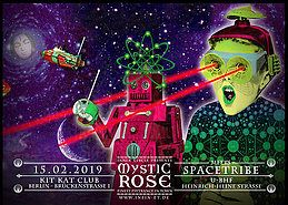 Party Flyer The Mystic Rose meets SPACETRIBE 15 Feb '19, 23:00