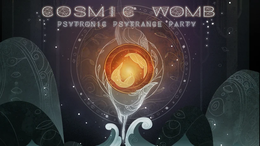 Party Flyer Cosmic Womb - Psytronic Psytrance Party 16 Feb '19, 23:00