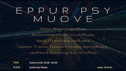 Party Flyer EPPUR PSY MUOVE 16 Feb '19, 22:00