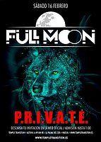 Party Flyer FULL MOON P.R.I.V.A.T.E. 16 Feb '19, 23:00