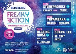 Party Flyer FREAKY FICTION 20 Feb '19, 23:00