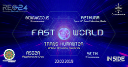 Party Flyer Fast Psy World 22 Feb '19, 22:00