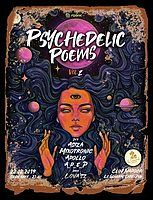 Party Flyer Psychedelic Poems 2 ▼ S ☼ ☾☽ N ▲ 22 Feb '19, 23:00