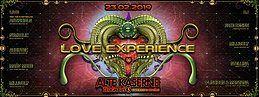 Party Flyer **LOVE EXPERIENCE** Alte Kaserne Zürich 23 Feb '19, 22:30