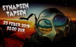 Party Flyer Synapsen Tapsen // Fledermausland 23 Feb '19, 22:00