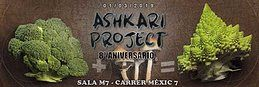 Party Flyer Ashkari Project 8 Aniversario: 8 años 8 dj's 2 salas 2 decos 1 Mar '19, 23:30