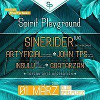 Party Flyer Spirit Playground - Club Spielplatz Linz 1 Mar '19, 22:00