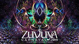 Party Flyer Zuvuya Festival 2019 - Conectando Dimensões 1 Mar '19, 01:00