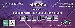 Party Flyer Eclipse - Auf zu neuen Ufern 2 Mar '19, 23:00