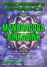 Party Flyer Progressive Experience with Mandragora & Rinkadink 2 Mar '19, 23:00