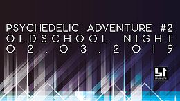 Party Flyer Psychedelic Adventure #2 | Oldschool Goa Night 2 Mar '19, 23:00
