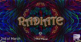 Party Flyer Radiate 2 Mar '19, 23:00