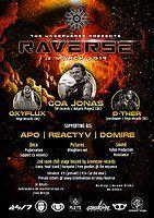 Party Flyer The underverse presents: Raverse | 2 Rooms 2 Mar '19, 23:00