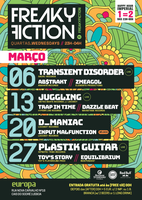 Party Flyer FREAKY FICTION 6 Mar '19, 23:00